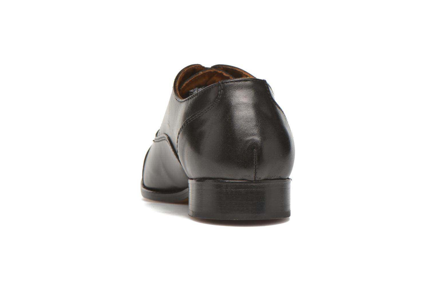Lace-up shoes Marvin&co Nympsfield Black view from the right