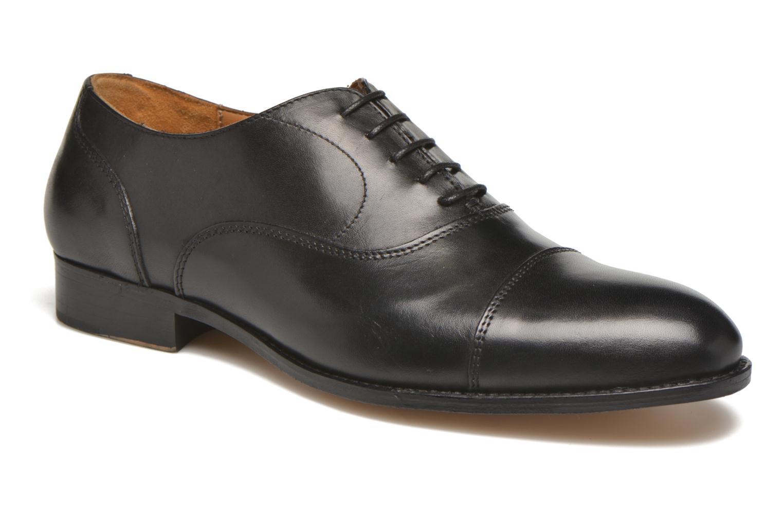 Schnürschuhe Marvin&Co Nympsfield schwarz detaillierte ansicht/modell