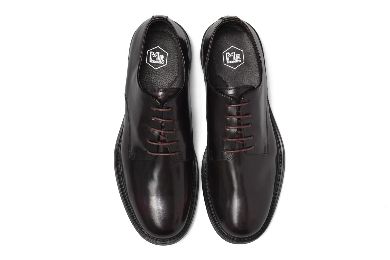 Chaussures à lacets Mr SARENZA Nobil Bordeaux vue portées chaussures