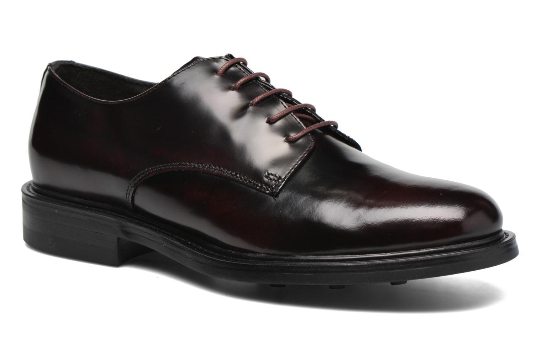 Chaussures à lacets Mr SARENZA Nobil Bordeaux vue droite