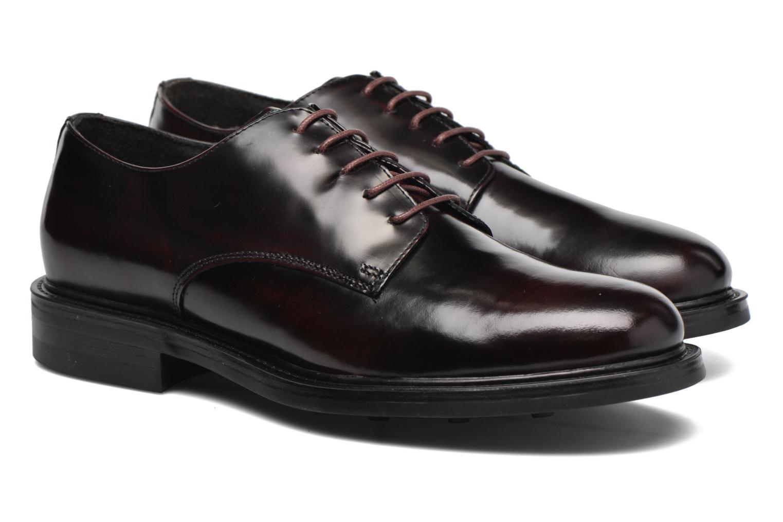 Chaussures à lacets Mr SARENZA Nobil Bordeaux vue derrière