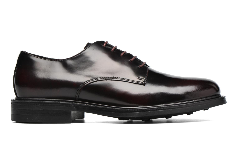 Snøresko Mr SARENZA Nobil Bordeaux detaljeret billede af skoene