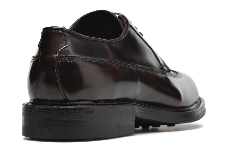 Chaussures à lacets Mr SARENZA Notheam Bordeaux vue face
