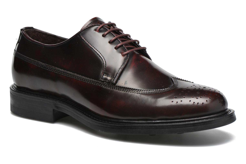 Chaussures à lacets Mr SARENZA Notheam Bordeaux vue droite