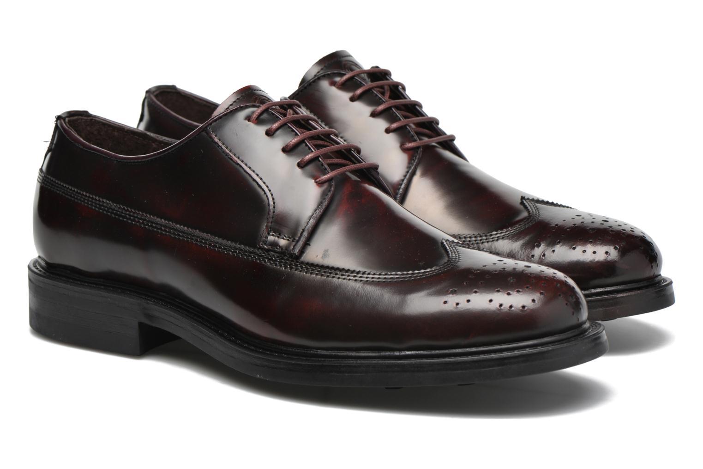 Chaussures à lacets Mr SARENZA Notheam Bordeaux vue derrière