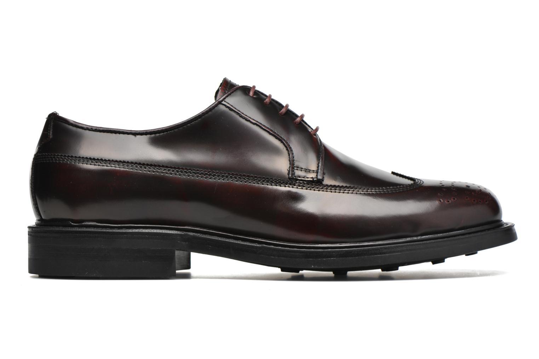 Chaussures à lacets Mr SARENZA Notheam Bordeaux vue détail/paire