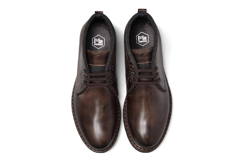 Bottines et boots Mr SARENZA Nibble Marron vue portées chaussures