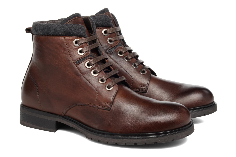 Boots Mr SARENZA Newwork Brun bild från baksidan