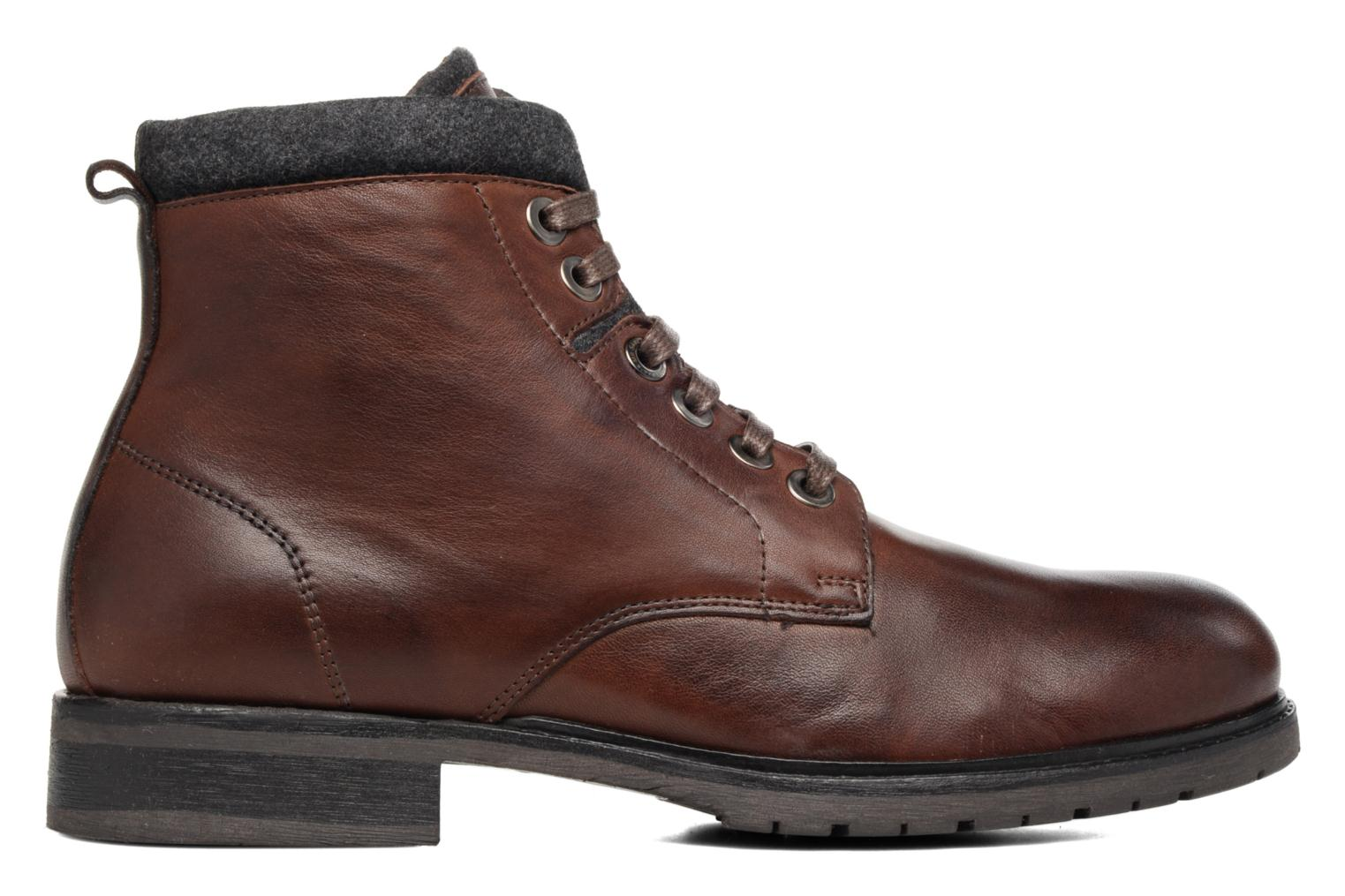 Bottines et boots Mr SARENZA Newwork Marron vue détail/paire