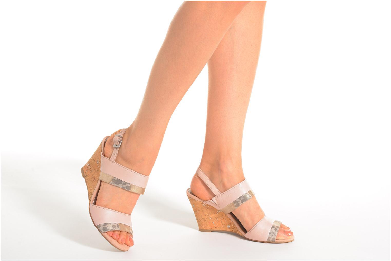 Sandales et nu-pieds Marco Tozzi Tahaa Rose vue bas / vue portée sac