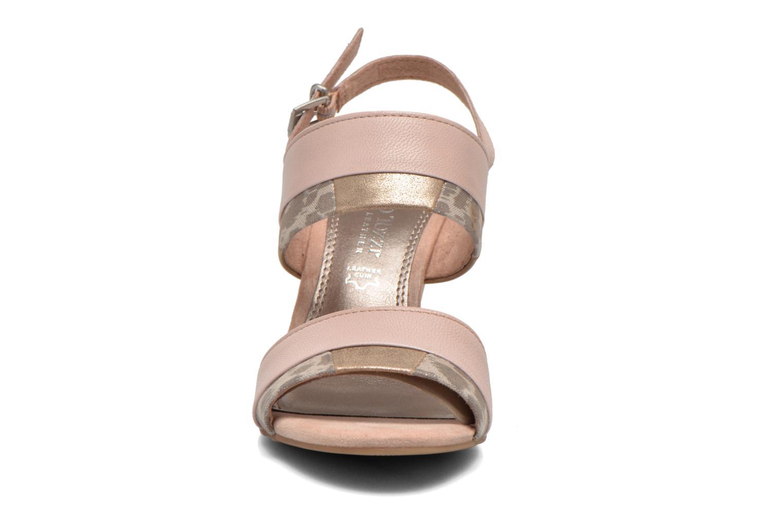 Sandales et nu-pieds Marco Tozzi Tahaa Rose vue portées chaussures