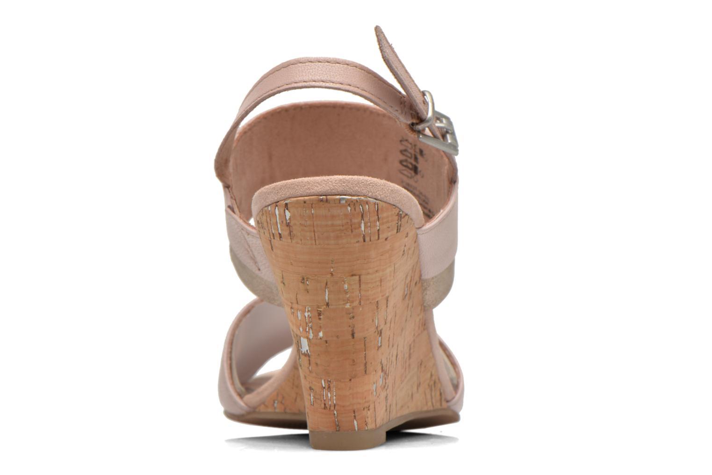 Sandales et nu-pieds Marco Tozzi Tahaa Rose vue droite