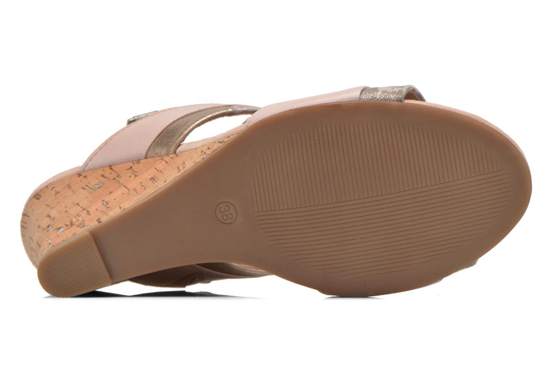 Sandales et nu-pieds Marco Tozzi Tahaa Rose vue haut