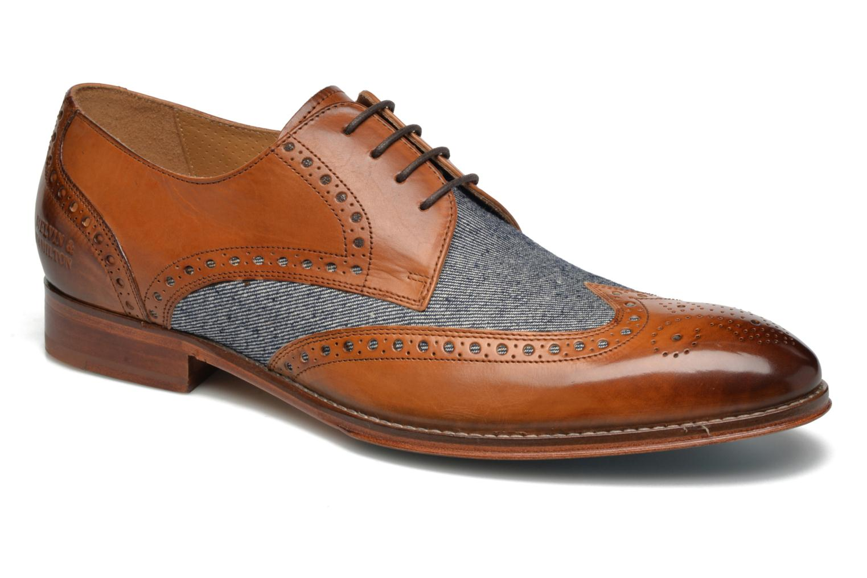Lace-up shoes Melvin & Hamilton Kane 5 Multicolor detailed view/ Pair view