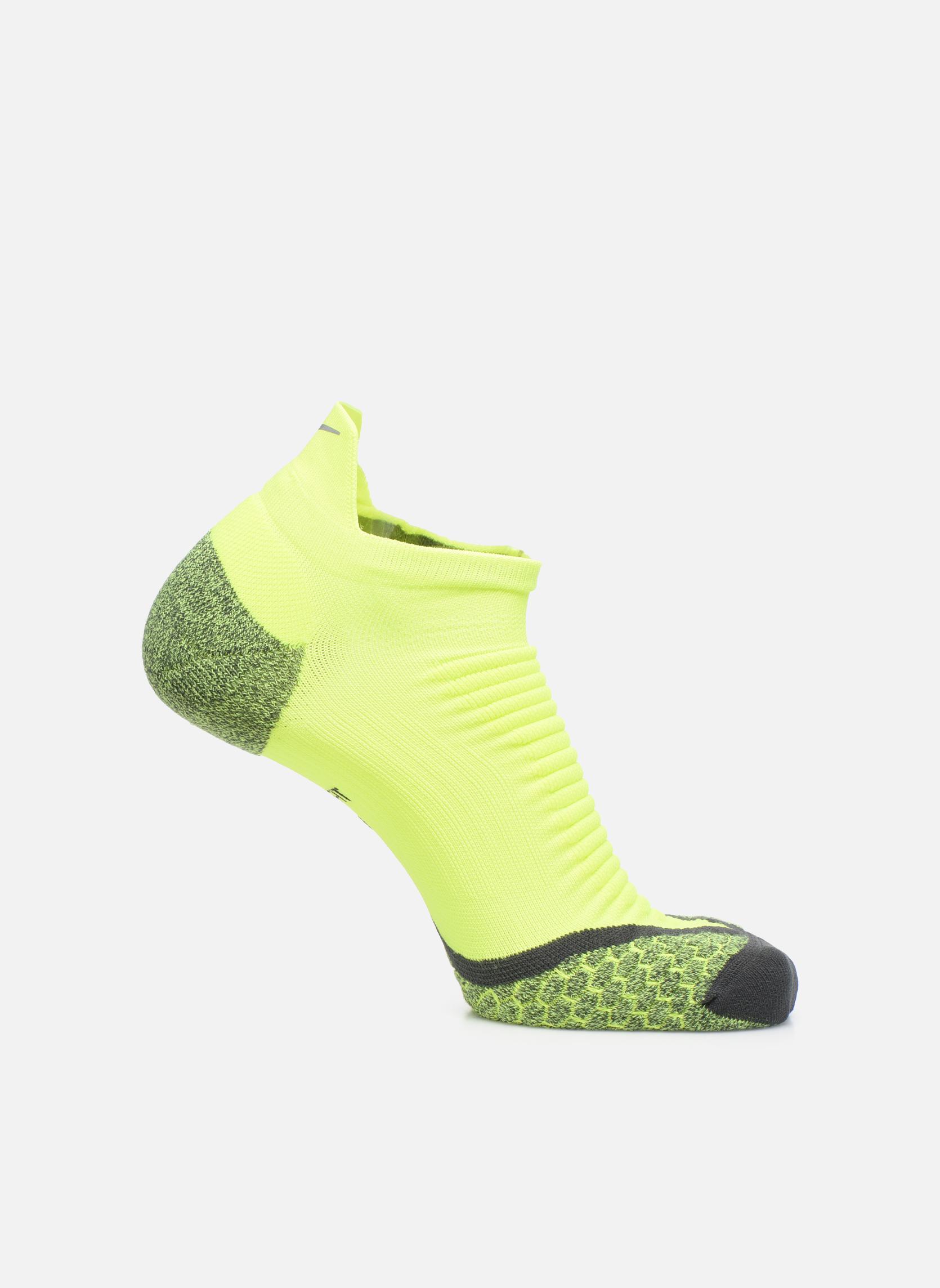 Nike Elite Cushioned No-Show Tab Running Sock
