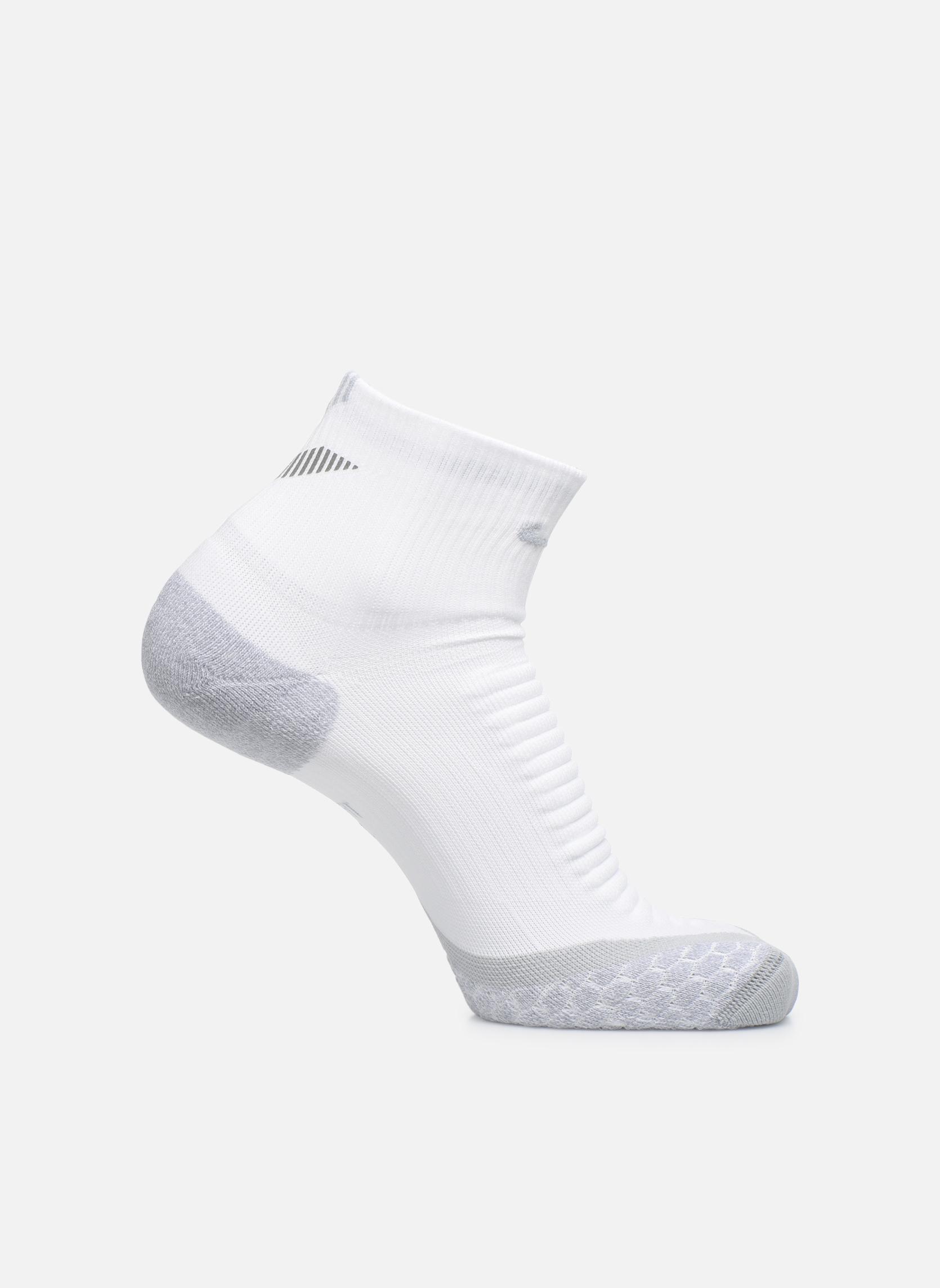 Nike Elite Cushion Quarter Running Sock WHITEWOLF GREY(WOLF GREY)