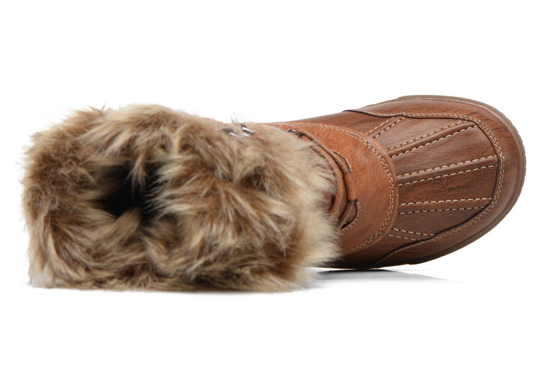 Zapatillas de deporte Kimberfeel Delmos Marrón vista lateral izquierda