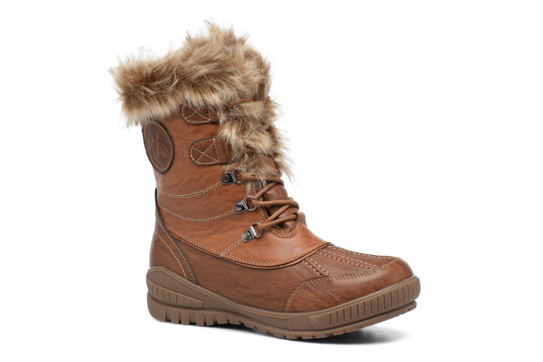 Chaussures de sport Kimberfeel Delmos Marron vue détail/paire