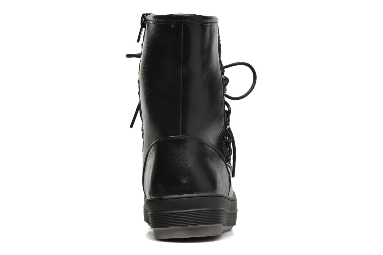 Zapatillas de deporte Kimberfeel Nadia Negro vista lateral derecha