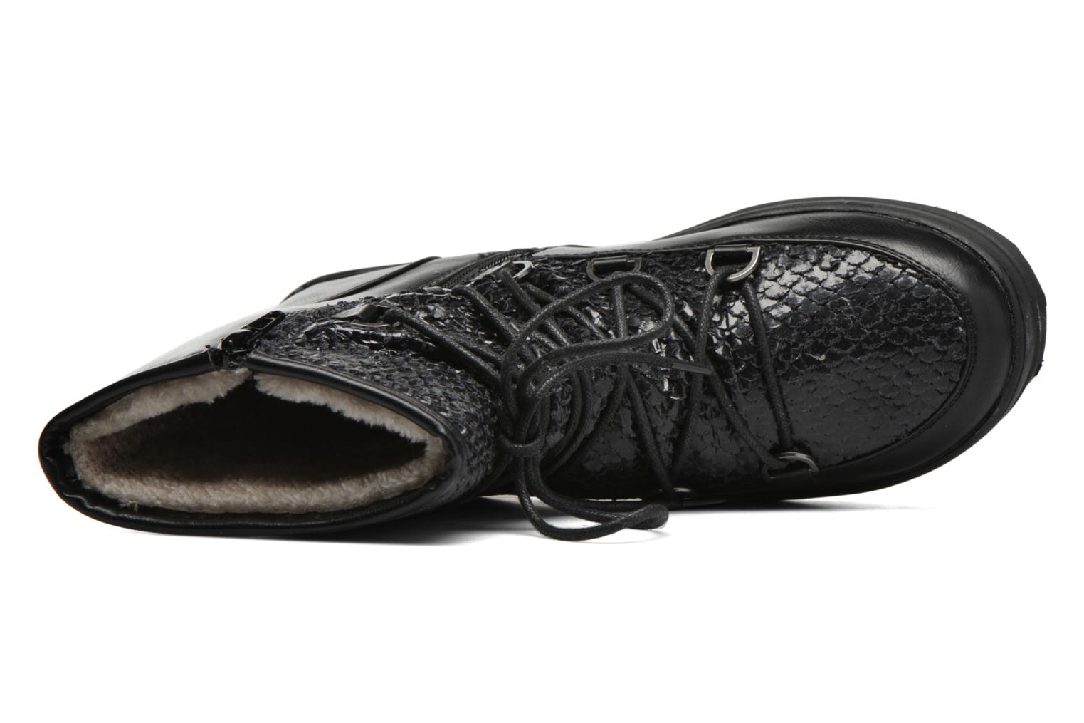 Sport shoes Kimberfeel Nadia Black view from the left