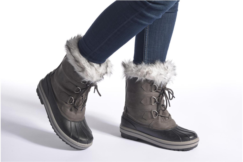 Chaussures de sport Kimberfeel Adriana Beige vue bas / vue portée sac