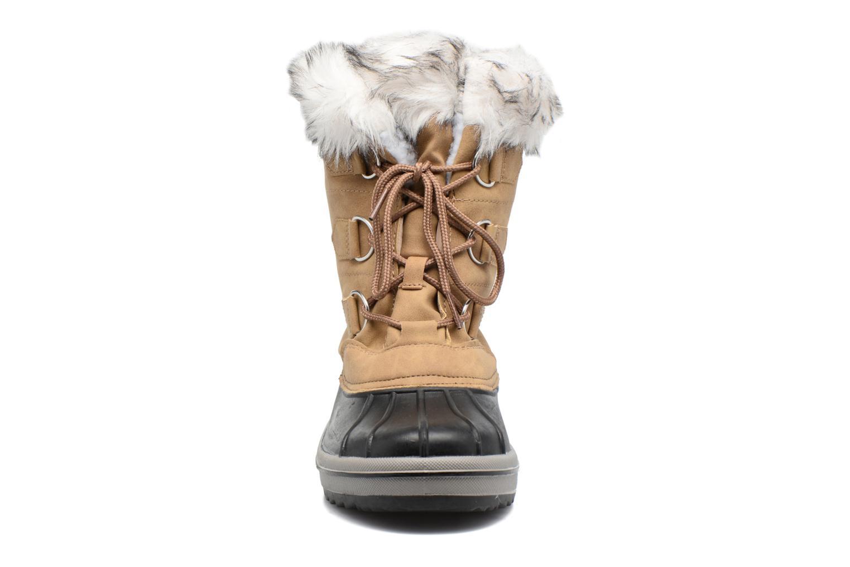 Chaussures de sport Kimberfeel Adriana Beige vue portées chaussures
