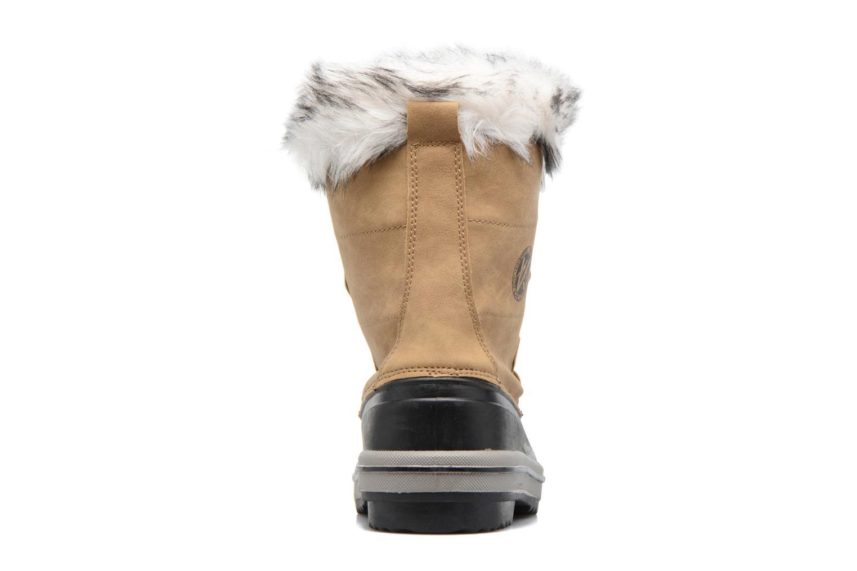 Chaussures de sport Kimberfeel Adriana Beige vue droite
