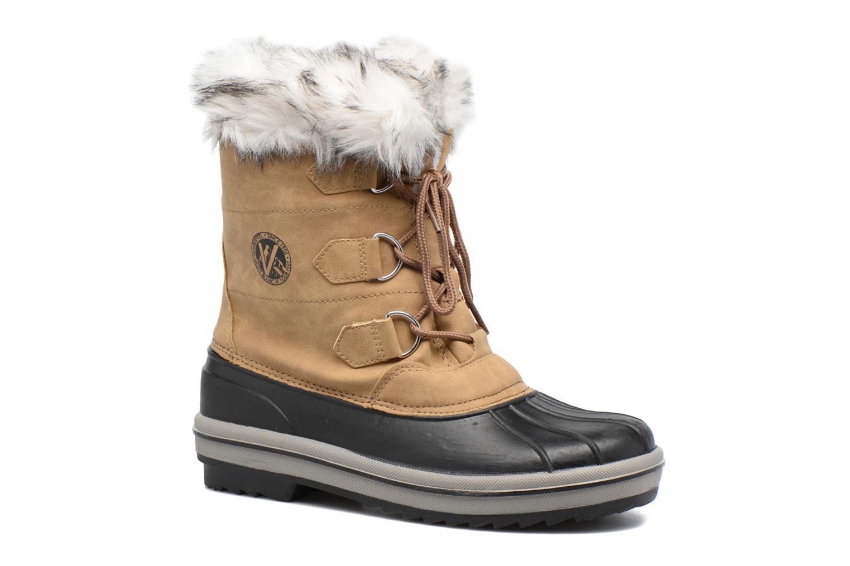 Chaussures de sport Kimberfeel Adriana Beige vue détail/paire
