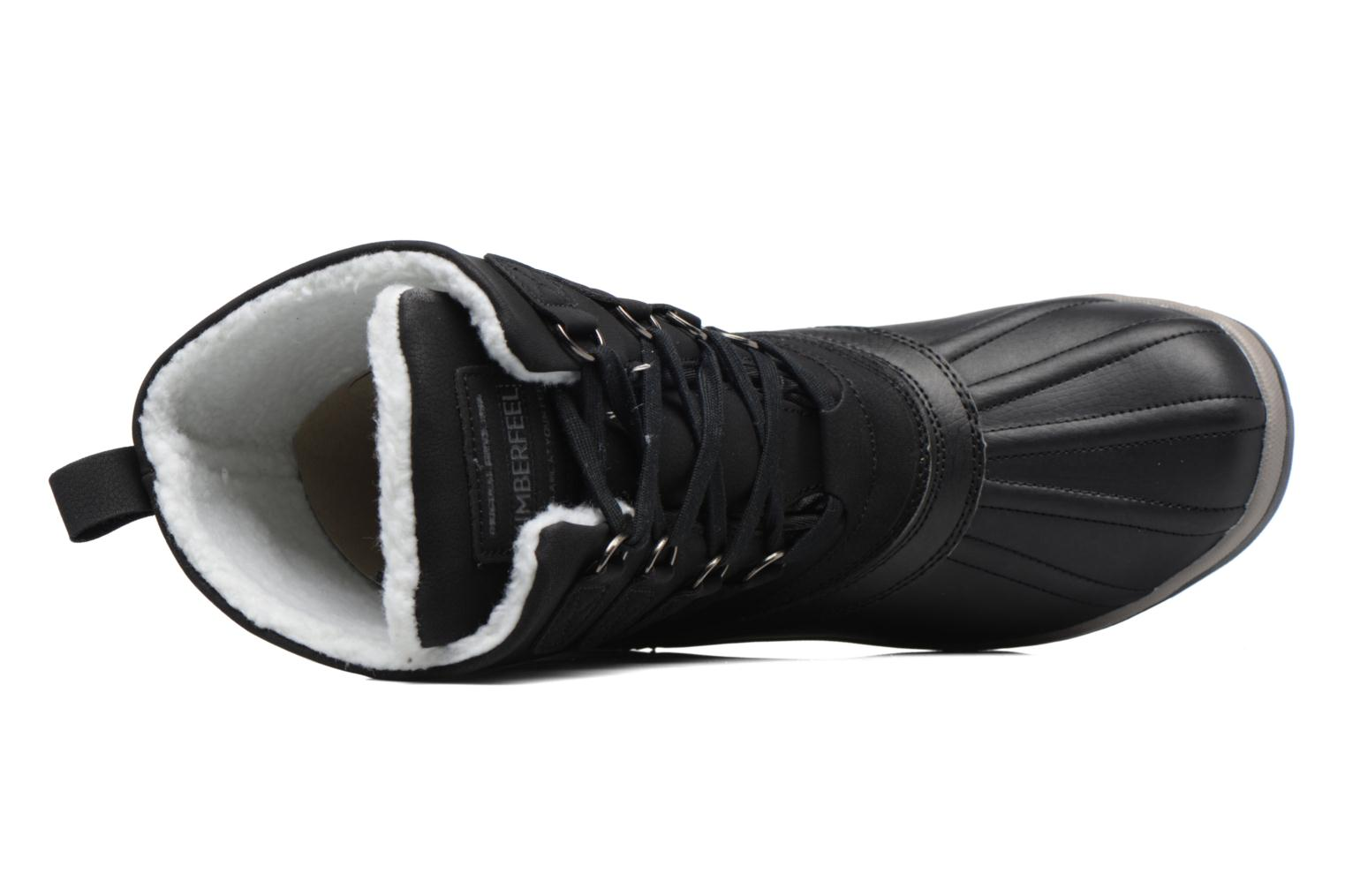 Sport shoes Kimberfeel Loris Black view from the left