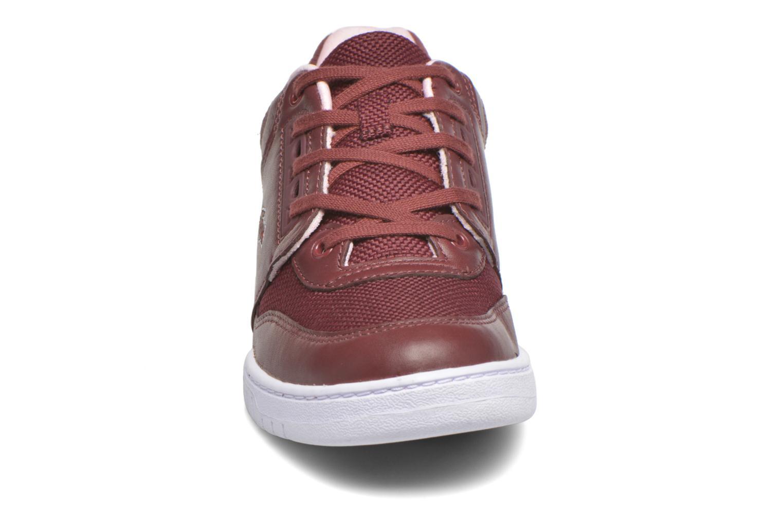 Baskets Lacoste Indiana 416 1 C Bordeaux vue portées chaussures