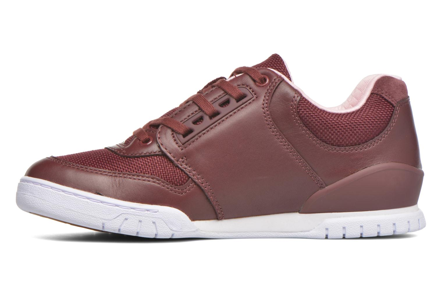 Trainers Lacoste Indiana 416 1 C Burgundy front view