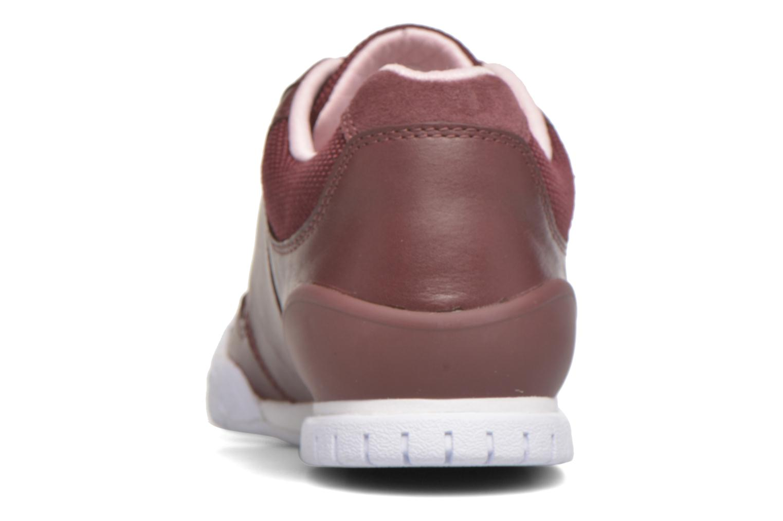 Trainers Lacoste Indiana 416 1 C Burgundy view from the right
