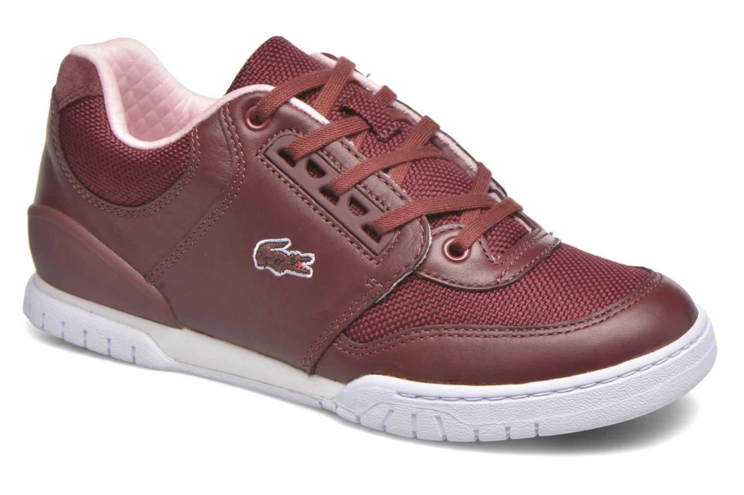 Trainers Lacoste Indiana 416 1 C Burgundy detailed view/ Pair view