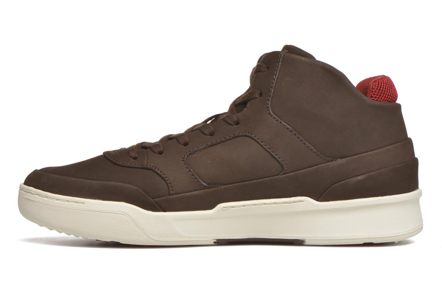 Baskets Lacoste Explorateur Mid 416 1 Marron vue face