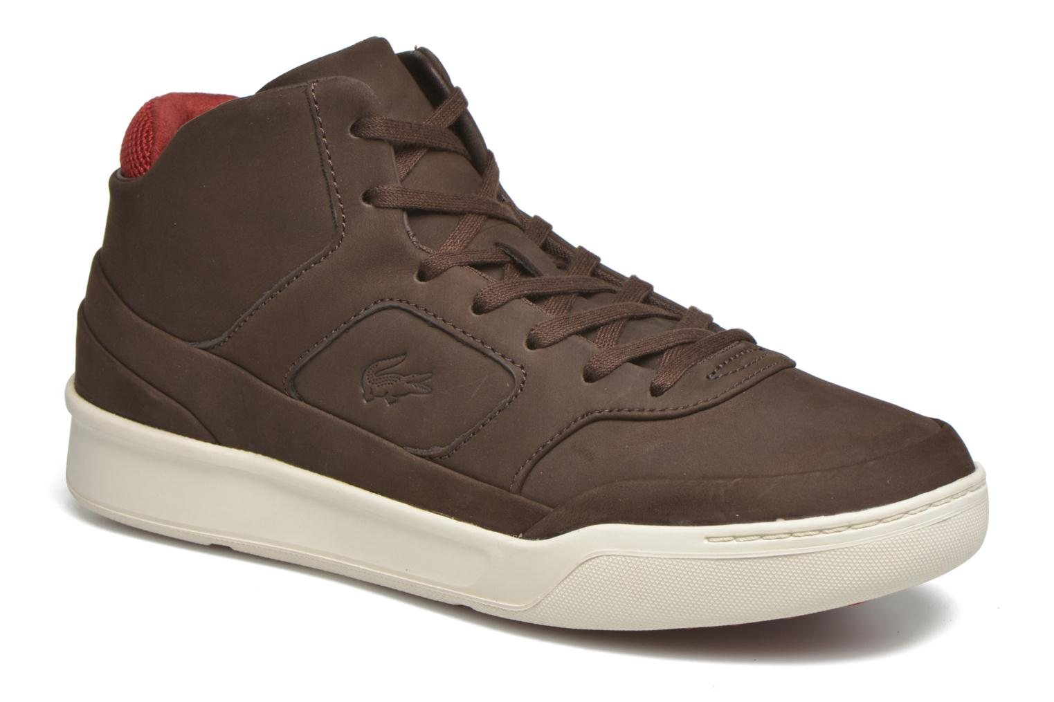 Baskets Lacoste Explorateur Mid 416 1 Marron vue détail/paire