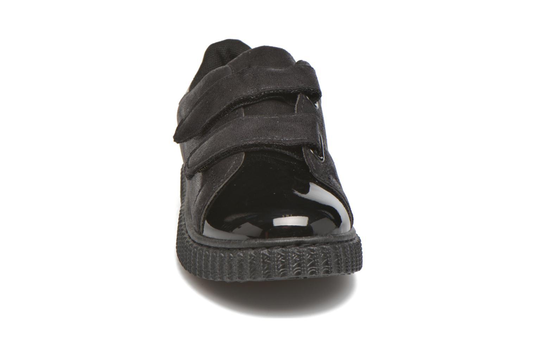 Baskets I Love Shoes THEVI Noir vue portées chaussures