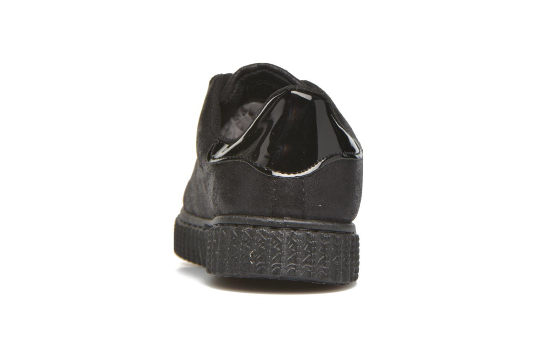 Baskets I Love Shoes THEVI Noir vue droite