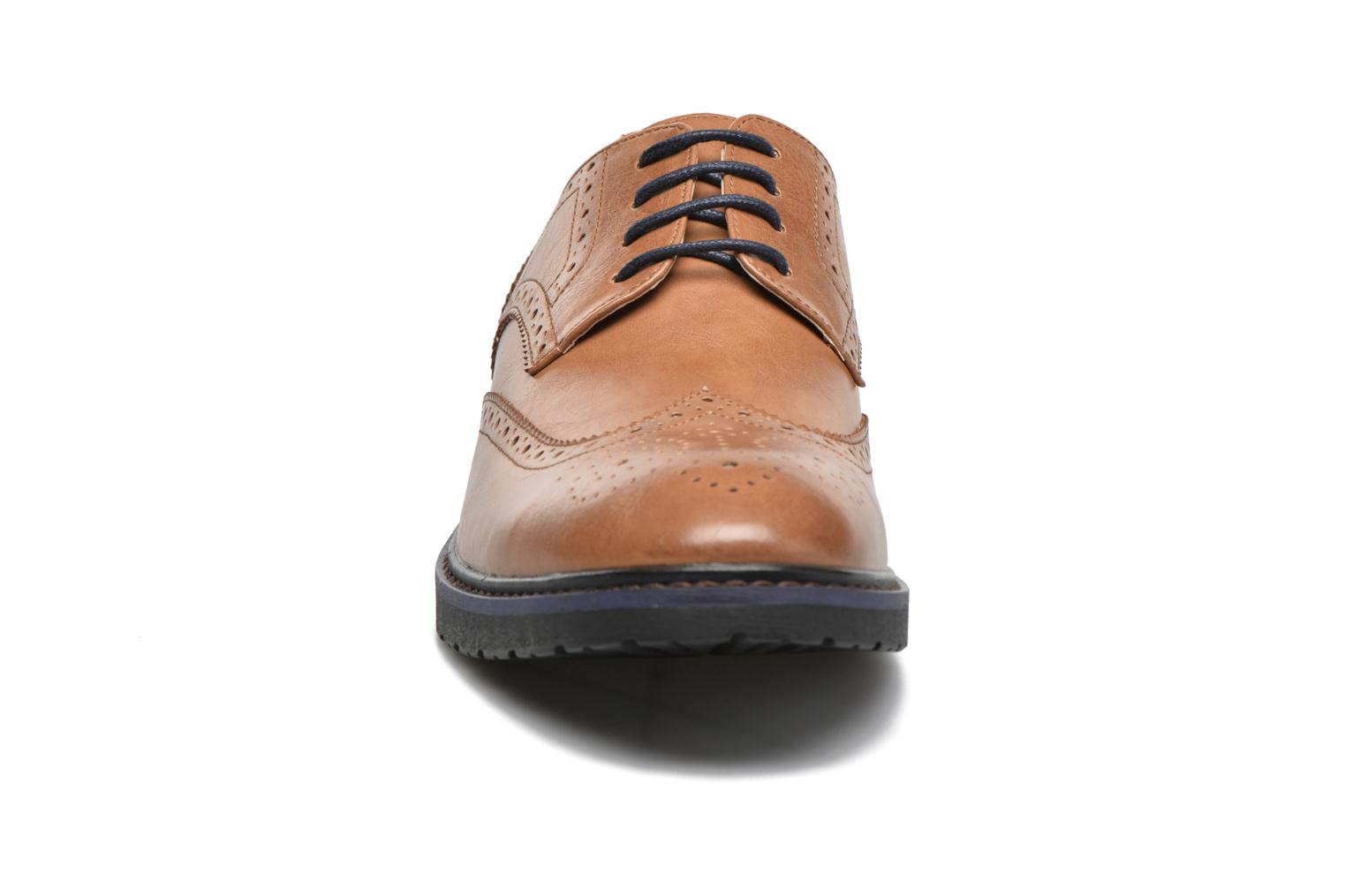 Lace-up shoes I Love Shoes THEM Brown model view