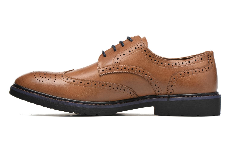 Veterschoenen I Love Shoes THEM Bruin voorkant