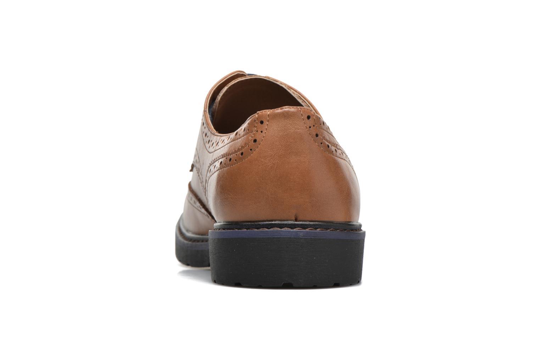 Veterschoenen I Love Shoes THEM Bruin rechts