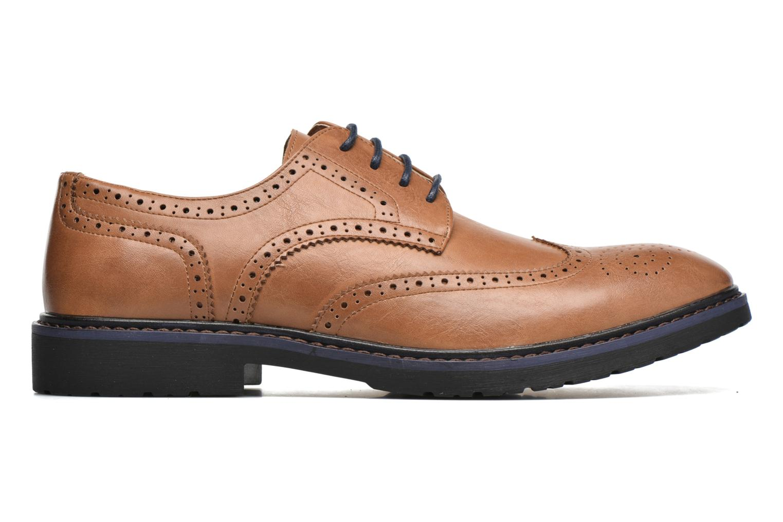 Veterschoenen I Love Shoes THEM Bruin achterkant