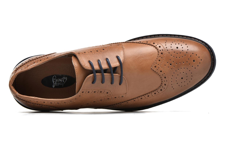 Veterschoenen I Love Shoes THEM Bruin links