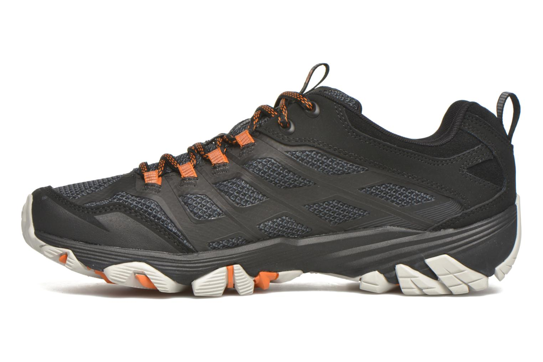Chaussures de sport Merrell Moab FST Gore Tex Noir vue face
