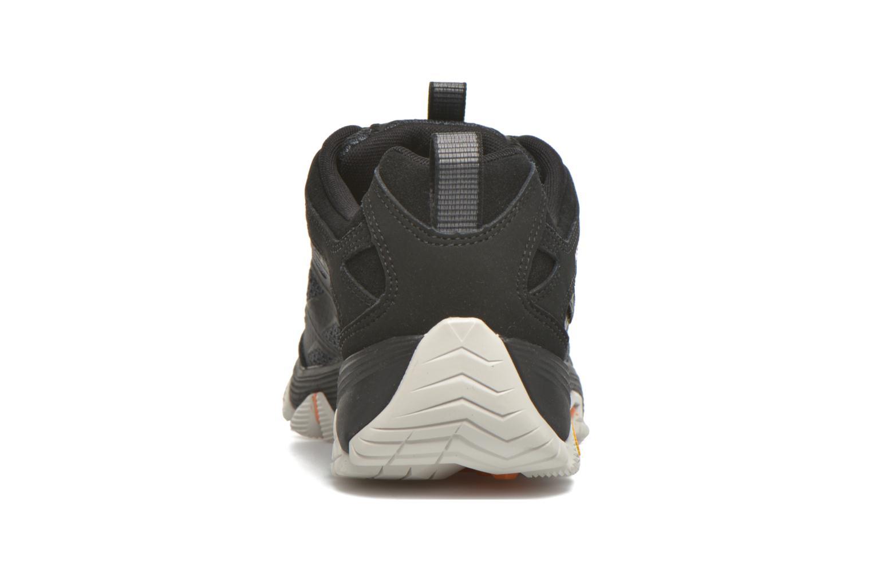 Zapatillas de deporte Merrell Moab FST Gore Tex Negro vista lateral derecha