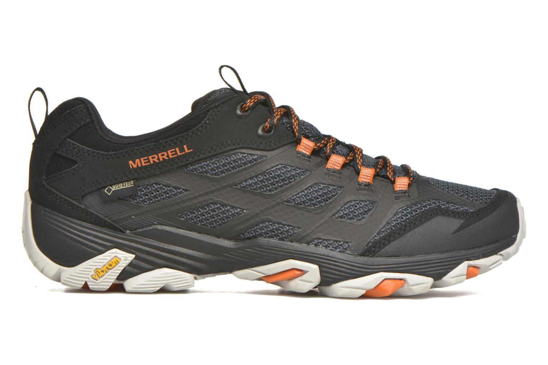 Chaussures de sport Merrell Moab FST Gore Tex Noir vue derrière