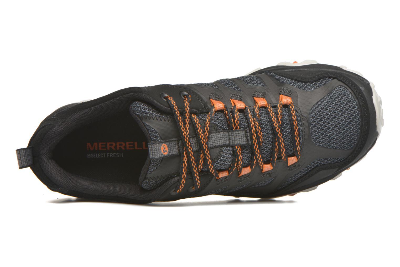 Chaussures de sport Merrell Moab FST Gore Tex Noir vue gauche