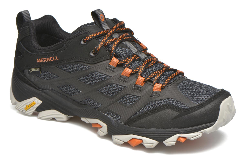 Chaussures de sport Merrell Moab FST Gore Tex Noir vue détail/paire