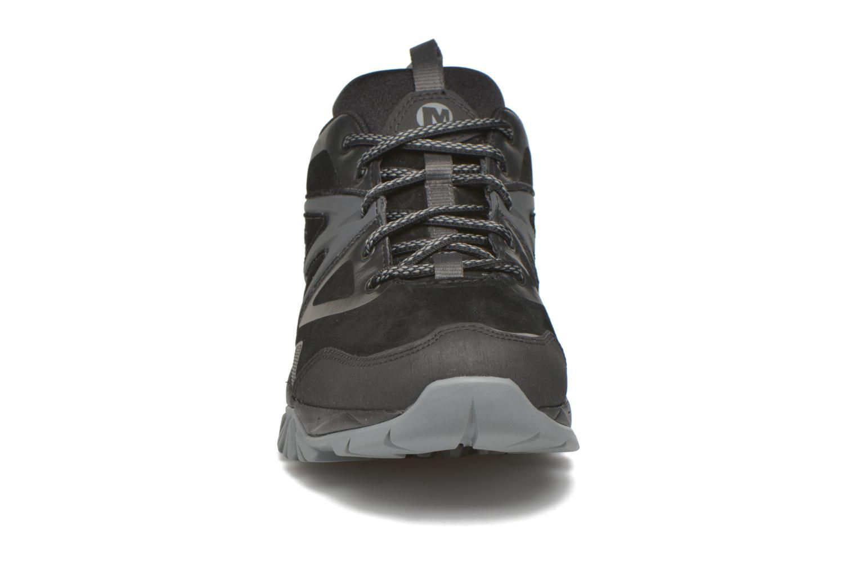 Sportschuhe Merrell Capra Bolt Leather Waterproof schwarz schuhe getragen