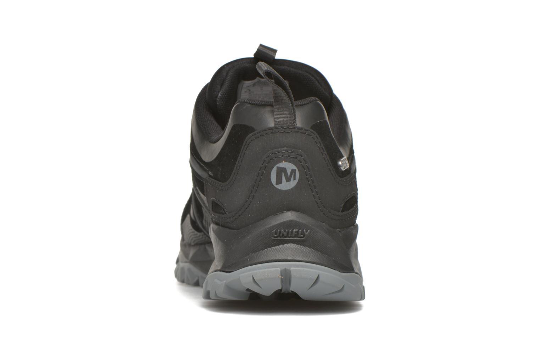 Sportschuhe Merrell Capra Bolt Leather Waterproof schwarz ansicht von rechts