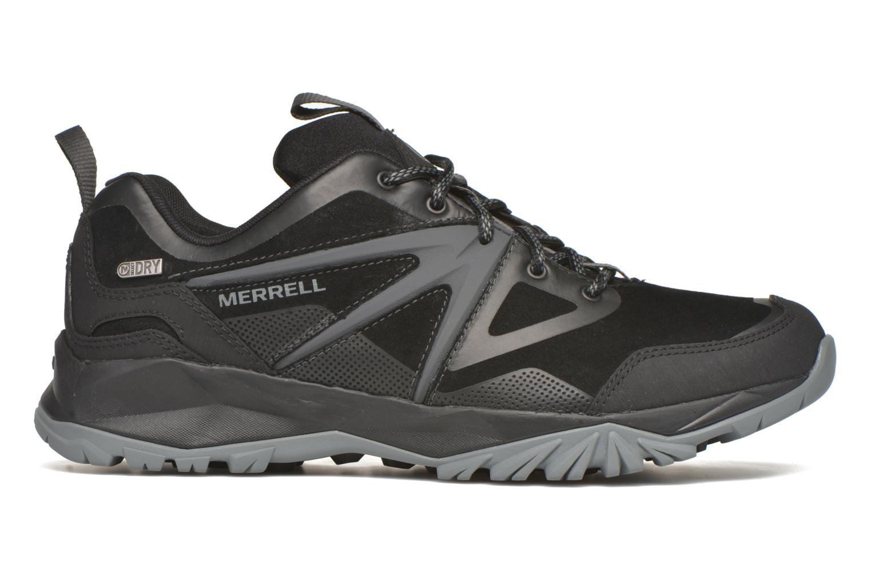 Sportschuhe Merrell Capra Bolt Leather Waterproof schwarz ansicht von hinten